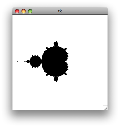 Simple Mandelbrot generator using Python – Kzone -